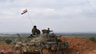 """الجيش السوري يطوق أكبر معقل لـ""""النصرة"""" جنوب إدلب"""
