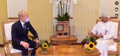 وزير الخارجية العماني يستقبل المبعوث الاممي الى اليمن ويناقشا وقف اطلاق النار والمضي في عملية السلام